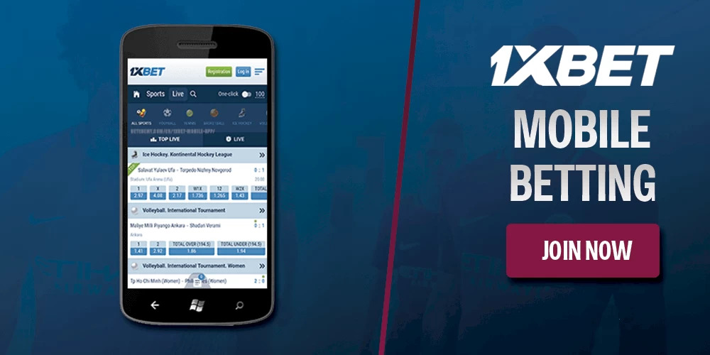 1xBet App Mobile Devices